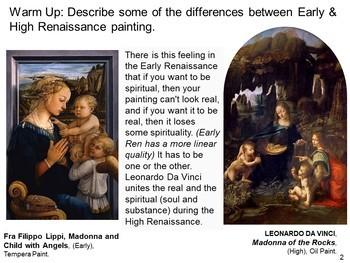 High to Late Italian Renaissance Bundle