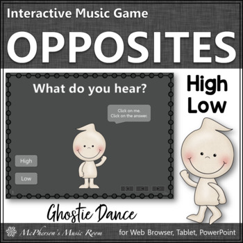 High vs Low - Ghostie Dance Interactive Music Game {melody}