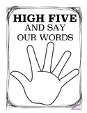 High5 Say our Words