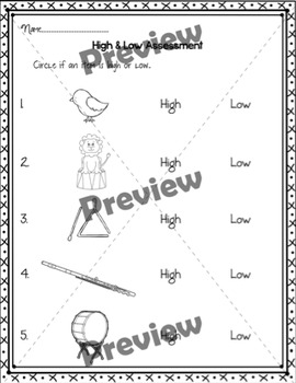 High/Low Sorting {Worksheet/Center for Practice or Assessment}