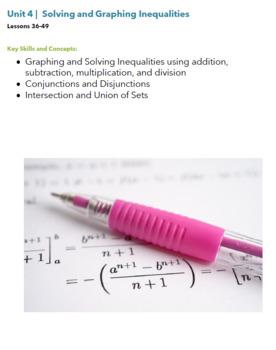 Higher Altitudes in Algebra I - Teacher's Edition