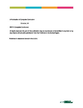 Higher Altitudes in Algebra II - Teacher's Edition