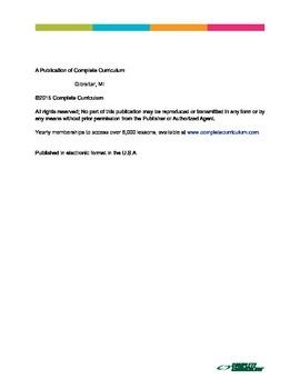 Higher Altitudes in Tenth Grade Language Arts - Teacher's Edition