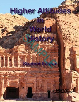 Higher Altitudes in World History and Geography - Teacher's Edition