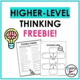 Higher-Level Thinking