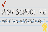 Higher Level Thinking High School P.E. Concepts exam Part