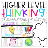 Higher Level Thinking Posters