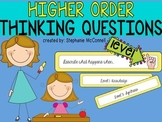 Higher Level Thinking Questions- Teaching Stems