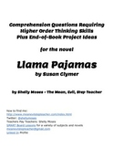 Higher Order Discussion Questions for the Novel Llama Pajamas