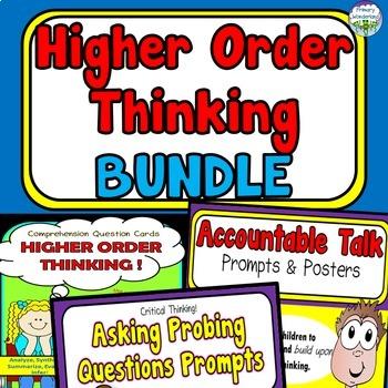 Higher Order Thinking BUNDLE