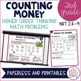 Higher Order Thinking Counting Money 2nd Grade