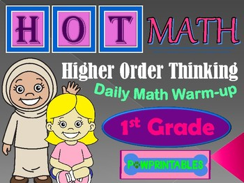 Higher Order Thinking Daily Math Warm Up - First Grade
