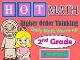 Higher Order Thinking Daily Math Warm-up - 2nd Grade