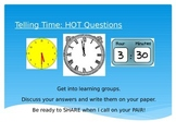 Higher Order Thinking Discussion Questions - Telling Time