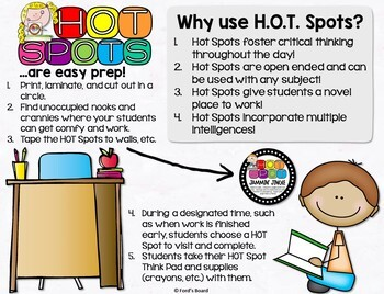 Higher Order Thinking Stations - H.O.T. Spots
