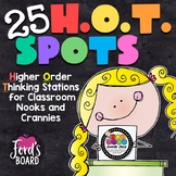 Higher Order Thinking Stations | H.O.T. Spots