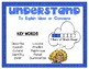 Higher Order Thinking Posters base on Bloom's Taxonomy- AU