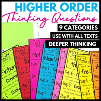 Higher Order Thinking Question Fans