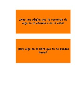 Higher Order Thinking Questions - Spanish