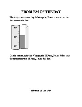 Higher Order Thinking Questions Temperature