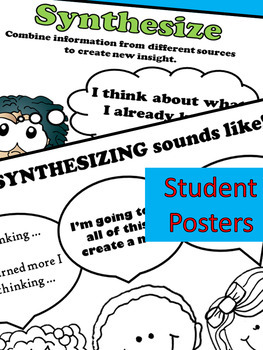Higher Order Thinking Reading Comprehension Graphic Organizers Fic Non-Fiction