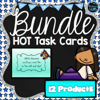 Higher Order Thinking Skills Bundle (Task Cards)