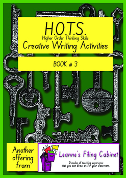 Higher Order Thinking Skills - Creative Writing - Book 3