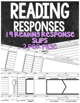 Higher Order Thinking Skills Bloom's Taxonomy Fiction Reading Response Bundle