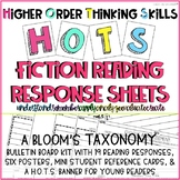 Higher Order Thinking Skills Bloom's Taxonomy Fiction Reading Response Bundle