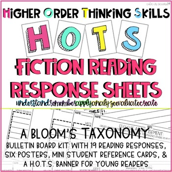 Higher Order Thinking Skills Bloom's Taxonomy Fiction Read