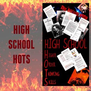 Higher Order Thinking Skills/High School HOTS #1 Nietzsche