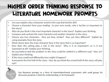 Higher Order Thinking Sticky Note Templates Based on Hess Cognitive Rigor