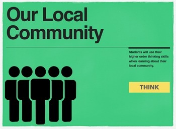 Higher Order Thinking about the Local Community
