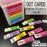 Higher Phonics Dot Cards - Blending and Segmenting Cards