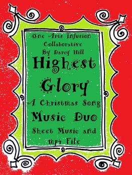 Highest Glory Music Duo (A Christmas Song) Sheet Music and an mp4 File