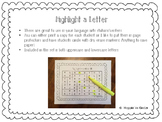 Highlight A Letter!