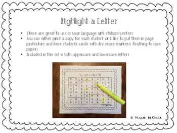 Highlight A Letter!