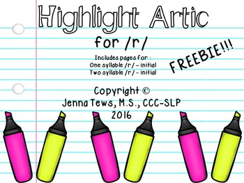 Highlight Artic for /r/ - FREEBIE!