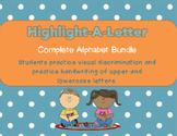 Highlight-a-Letter Complete Alphabet Bundle!!