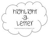 Highlight a Letter Packet