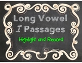 Highlight and Record Long Vowel I