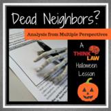 Highlight on Halloween and Free Speech: Dead Neighbors?
