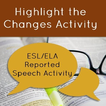 Direct and Reported Speech Changes