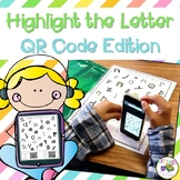 Highlight the Letter QR Code Edition: letter identification