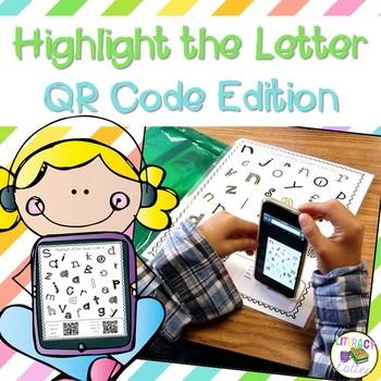 Highlight the Letter: QR Code Edition {letter identification}