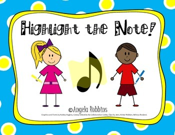 Highlight the Note Activity Packet