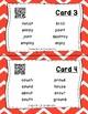 Highlight the Sounds QR Code Task Cards Set 3 IREAD PHONICS