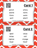 Highlight the Sounds QR Code Task Cards Set 3 IREAD Practice