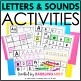Highlight a Letter Activities: Letters and Beginning Sounds