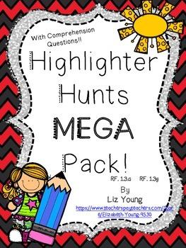 Highlighter Hunts MEGA Pack!!